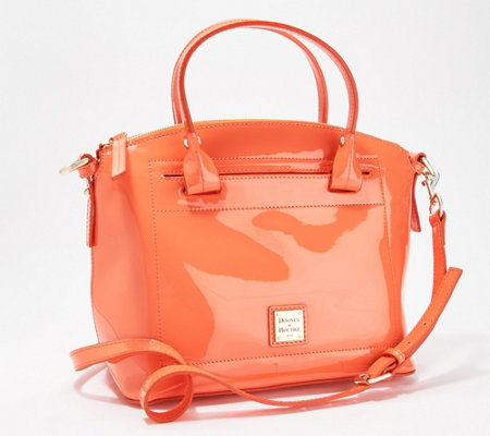Dooney & Bourke Patent Leather Domed Satchel