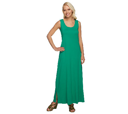 Liz Claiborne New York Essentials Scoop Neck Knit Maxi Dress - Page ...