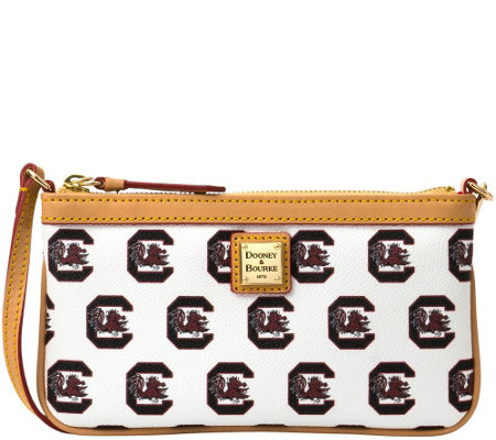 Dooney & Bourke NCAA University of South Carolina Slim Wristlet