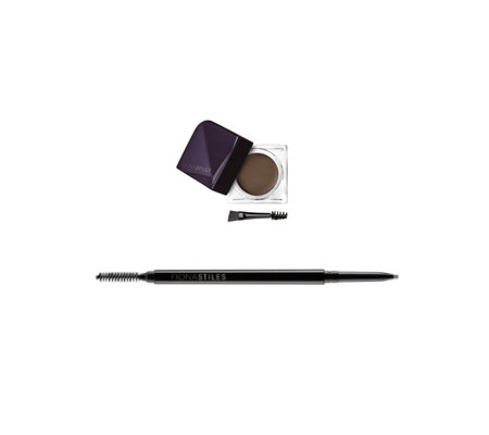 Fiona Stiles Brow Sculpting Wax & Micro- Precision Pencil Duo