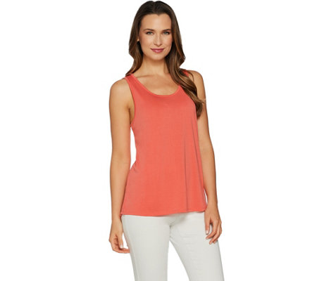 Attitudes by Renee Cut-Out Back Sleeveless Top