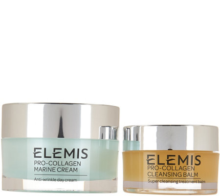 ELEMIS Pro-Collagen Marine Cream & Travel Size Cleansing Balm