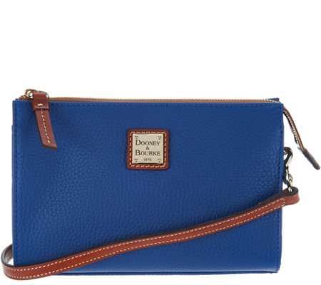 Dooney & Bourke Pebble Leather Crossbody Handbag- Janine