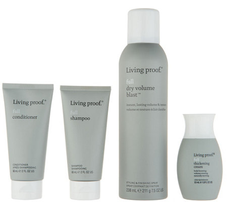 Living Proof Dry Volume Blast with Full Cleanse and Style Kit
