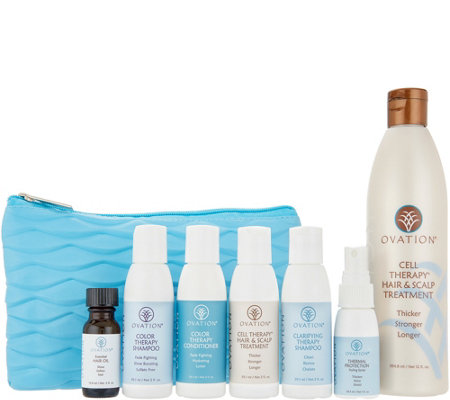 Ovation Cell Therapy Hair & Scalp Treatment with On the Go Kit