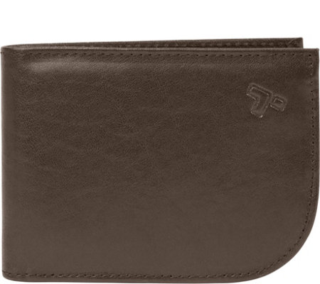 Travelon Safe ID Leather Front Pocket Wallet