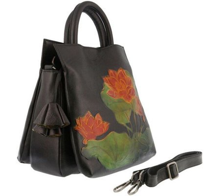 L`Artiste by Spring Step Leather Tote - Lilypad