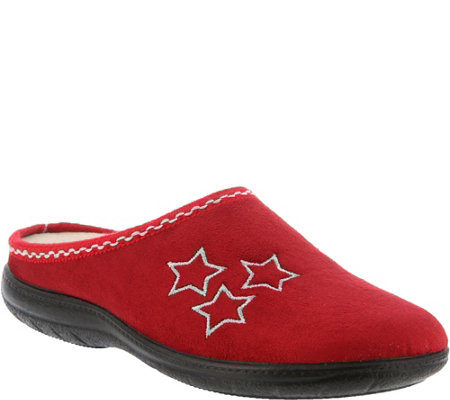 Flexus by Spring Step Indoor Outdoor Clog Slippers - Tristar