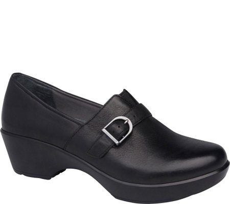 Dansko Closed Back Leather Clogs - Jane