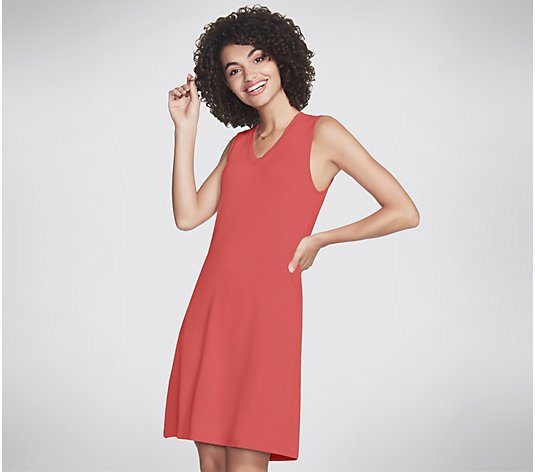 Skechers Apparel SkechLuxe Day Off V-Neck Dress