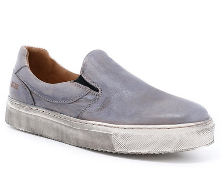 BED STU Leather Slip-On Sneakers - Hermione