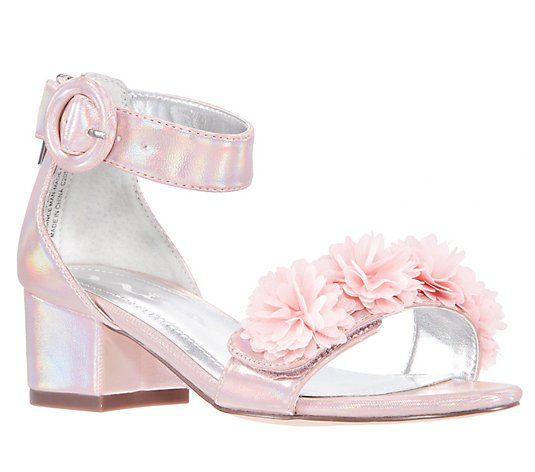Nina Girl's Adjustable Strap Sandals - Shyla