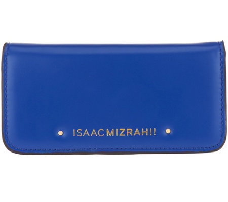 Isaac Mizrahi Live! Leather Phone Wallet