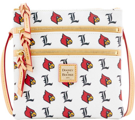 Dooney & Bourke NCAA University of Louisville Zip Crossbody