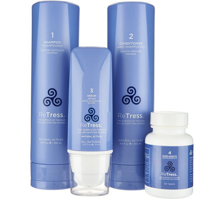 ReTress 4-piece Hair Rejuvenation System