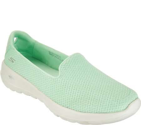 3b1c7f02d419 Skechers GO Walk Joy Slip-on Shoes - Radiant - Page 1 — QVC.com