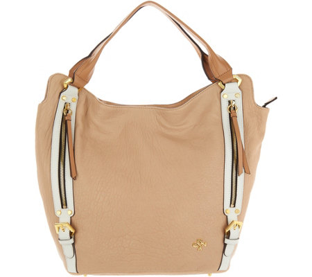 orYANY Lamb Leather Tote Handbag -Lauren
