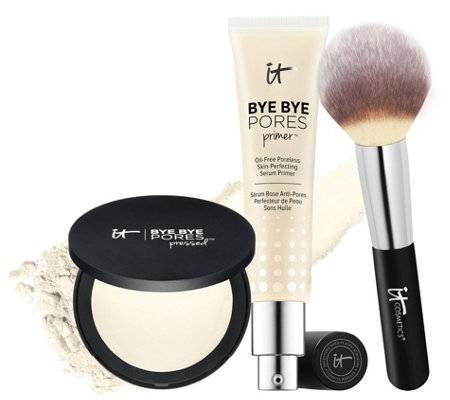 IT Cosmetics Bye Bye Pores Primer &Bye Bye Pores Powder Auto-Delivery