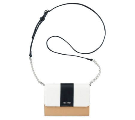 Nine West Aleksei Crossbody Wallet On A Chain