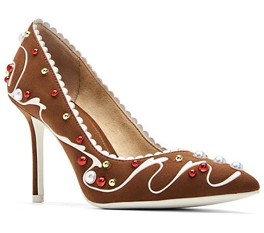 Katy Perry Novelty Gingerbread Pumps - The Ginja