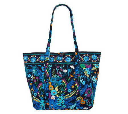 Vera Bradley Signature Print Large Laptop Tote