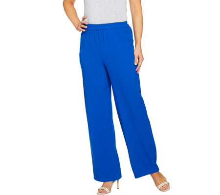 Linea by Louis Dell'Olio Petite Gauze Full Length Pant