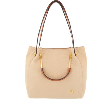orYANY Lamb Leather Convertible Satchel- Katherine