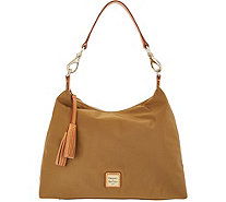 Dooney Bourke Nylon Hobo Handbag Juliette A308484