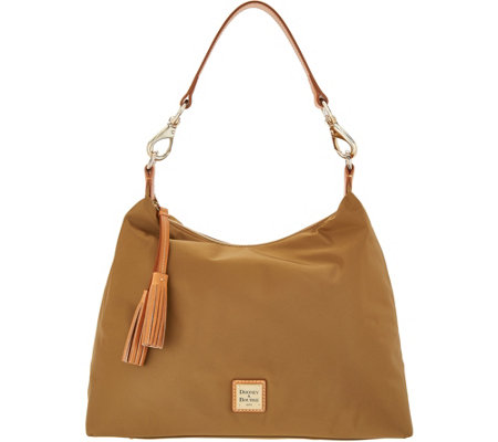 Dooney & Bourke Nylon Hobo Handbag- Juliette