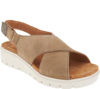 d81b7de6075b ... Low Wedge Sandals Un Karely Hail A343984. Clarks Sandals Women S Qvc Com