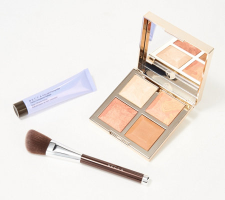 Becca Bff Palettes And Travel Primer With Brush