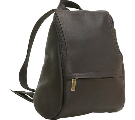 Le Donne Leather U-Zip Backpack