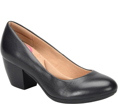 Comfortiva Leather Pumps - Amora