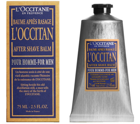 L'Occitane After Shave Balm for Men, 2.5 oz