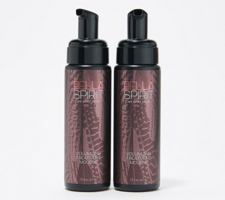 Wen By Chaz Dean Bella Spirit 7 5 Oz Volumizing Mousse Duo