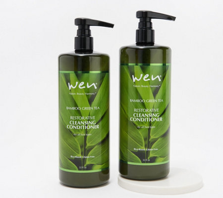 WEN by Chaz Dean 32-oz Cleansing Conditioner Duo
