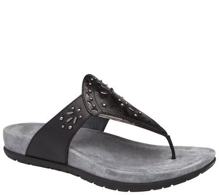 Dansko Leather Flip Flops - Benita