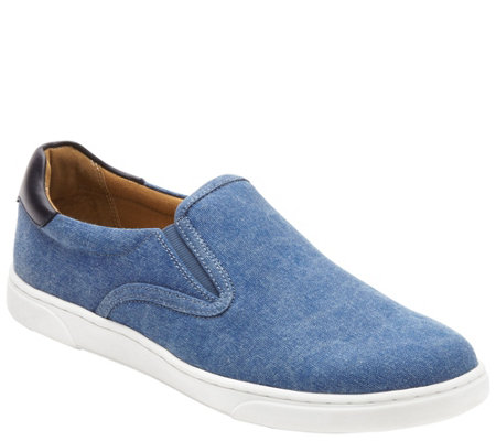 Vionic Men's Canvas Slip On Sneaker - Brody