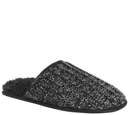 Muk Luks Men S Scuff Slippers Gavin