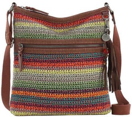 The Sak Lucia Crochet Crossbody Handbag Qvccom