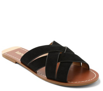 0d8428971c9c Kensie Suede Slip-On Sandals - Kattie - A426684