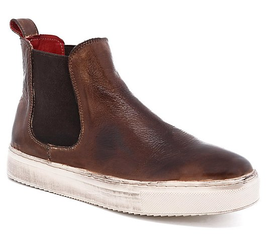 BED STU High Top Leather Slip-On Sneakers - Whitney