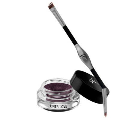IT Cosmetics Liner Love Waterproof Gel Creme Liner & Tightline Brush