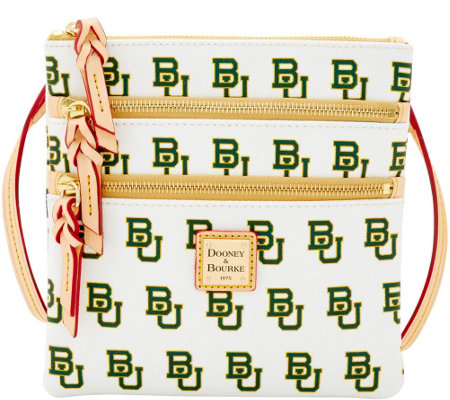 Dooney & Bourke NCAA Baylor University Zip Crossbody