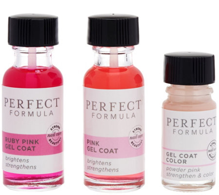 Perfect Formula Gel Coat Duo with Gel Coat Color Polish