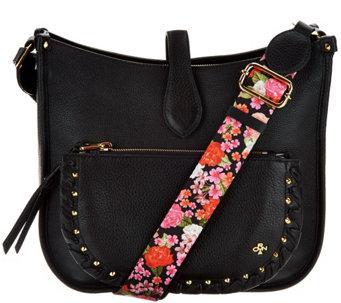 Oryany Pebble Leather Messenger Bag Anita A292985