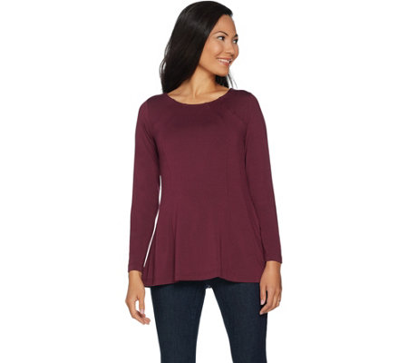 Belle by Kim Gravel Essential Curvallusion Tunic