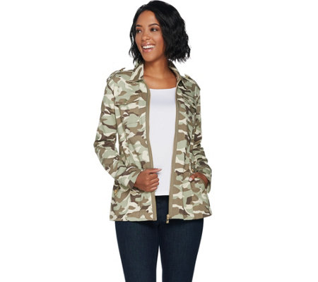 """As Is"" Belle by Kim Gravel Military Jacket"