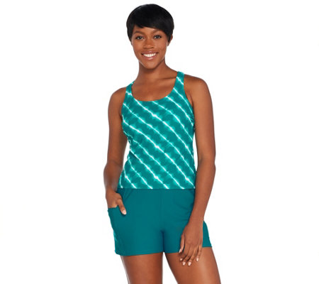e31708a780 Ocean Dream Signature Island Tie Dye Tankini Swimsuit - Page 1 — QVC.com