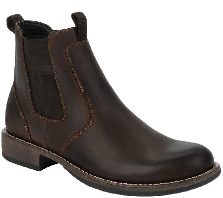 Eastland Men's Leather Ankle Boots - Daily Double